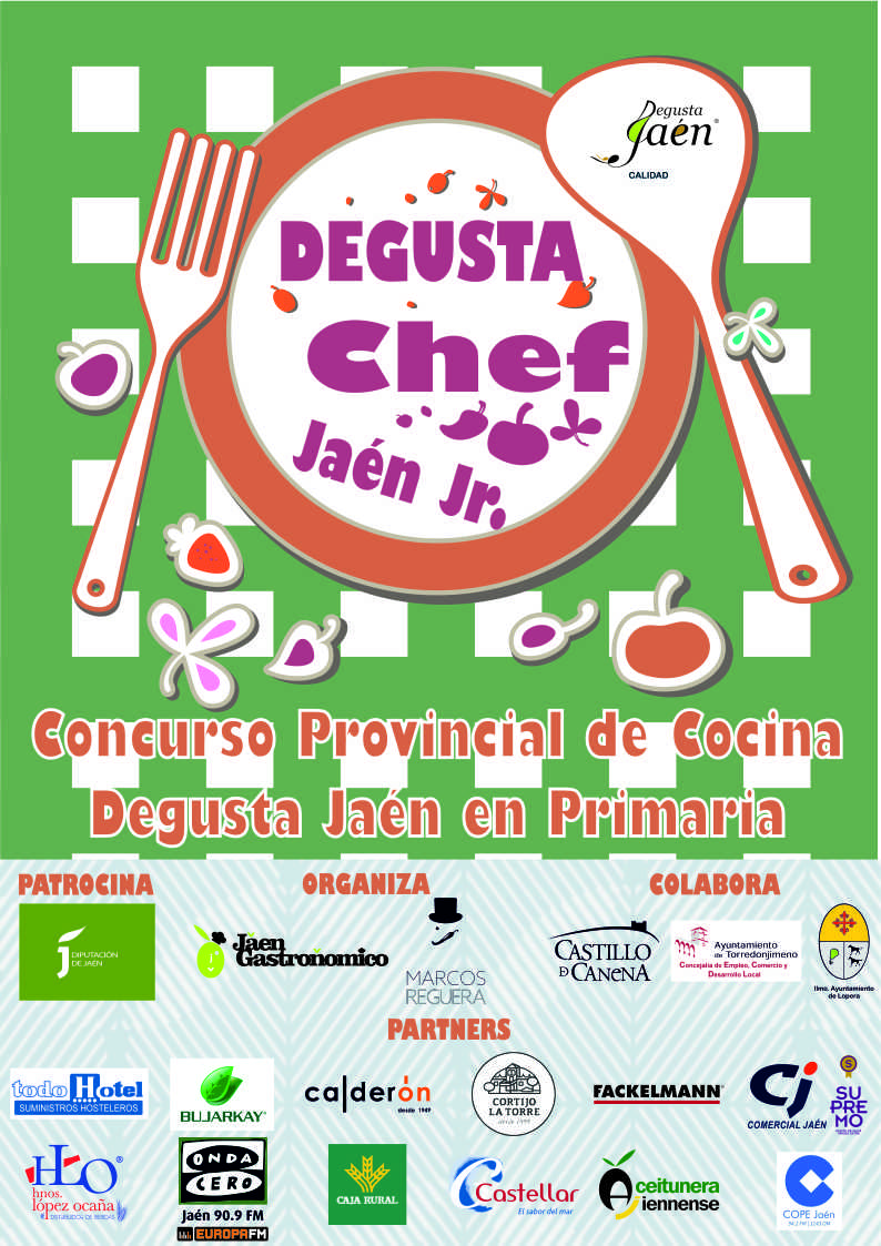 AAFF CARTEL DEGUSTA CHEF JAÉN JUNIOR